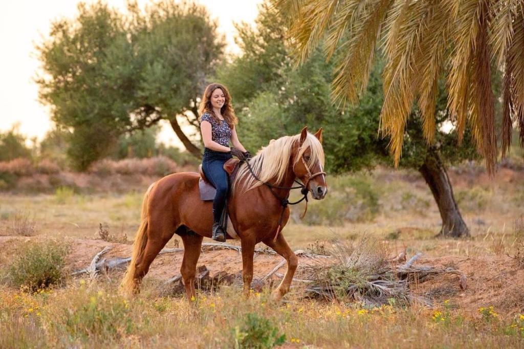 chestnut flaxen mane bosal spanish saddle